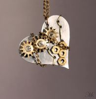 Steampunk pendant 19 by TheCraftsman