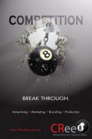 Break Through for CRee8 Group by FrozenPinky