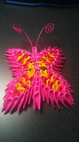 3D Origami Butterfly by IceKatana