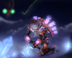 Firefall Contest - Oh look Crystites by CrimsonCrown
