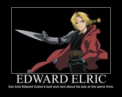 Edward Elric poster by okami-hato23