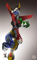 Beast Queen Golion by HundredHands