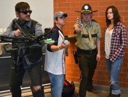 The Walking Dead cosplay by justjake54