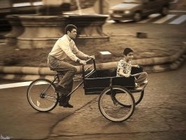Old-style riding by Kaslito