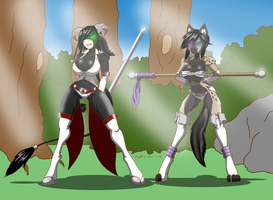 Raeffe and Navi by Raeffe
