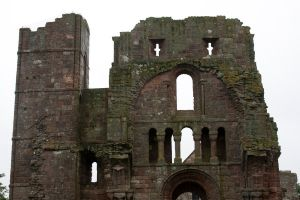 Lindisfarne Priory 6 by RaeyenIrael-Stock