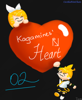 Kagamines' Heart by CeciliaRinChan