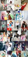 COSPLAY IN 2010 by nozomiwang