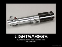 Lightsabers by Chris000