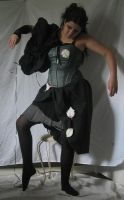Mechanical Masquerade-Green002 by TrapDoor-Stock