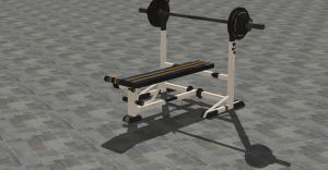 WEIGHT BENCH by Oo-FiL-oO