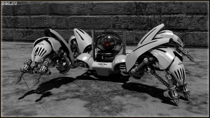 Scout VX3 Recon Bot by REDWOOD3D