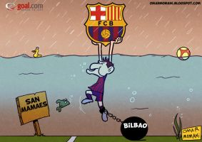 Messi vs Bilbao by OmarMomani