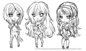 Gotlica Dollz: Sketch WIP by Kazhmiran