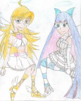 The Angel Sisters by YoungAngelStocking