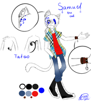 Reference: Samuel Demice by ApallonShinomia