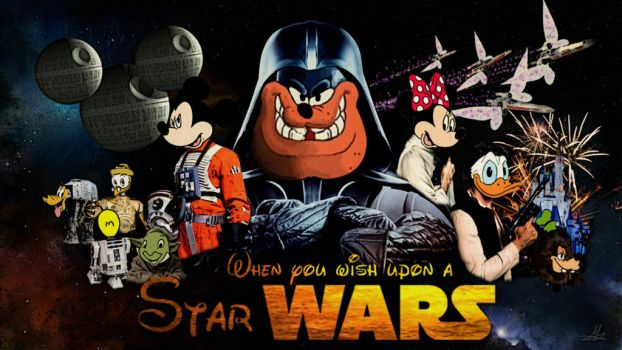 Disney and LucasFilm Ltd. by MaboZuka