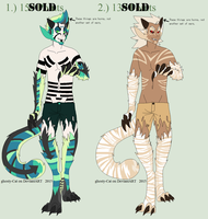 Veklonius Adoptables :CLOSED: by flannelRaptors