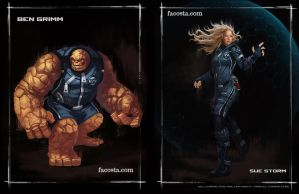 Fantastic 4...well two of them anyways by fernandoacosta