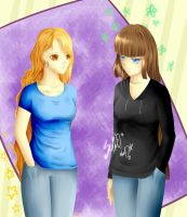 Lauren and Alix AT by neonparrot