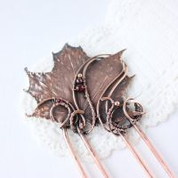 Real Maple Leaf Pin by WhiteSquaw