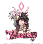 Badge Tourmaline by Pample