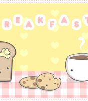Cute Breakfast animation by marti-c
