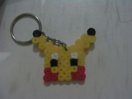 Pikachu Key Ring by animeninjayaya