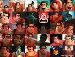 Wreck-it Ralph by Thetruffulacupcake