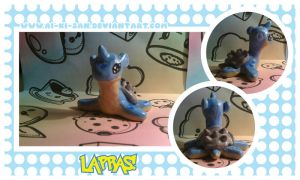 Sculpey: Lapras by chi-u