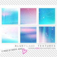 Icon Textures: Blue Flame by shirirul0ve