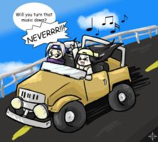 Oreos+Kabutos Xtreme Roadtrip by Angel-soma