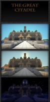 The Great Citadel, terraforming done. by VV01