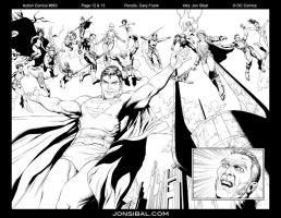 Legion of Super Heroes by jonsibal
