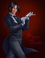 A Demon and a Butler by KrisCynical