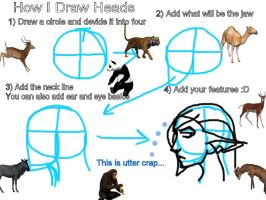 How I Draw Heads by Silenced-Dreams