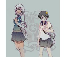 Olive and Maps by taho