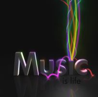 Music Is Life Is Music by 3rror404