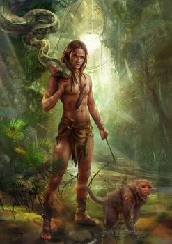 Mowgli. another version by Vasylina
