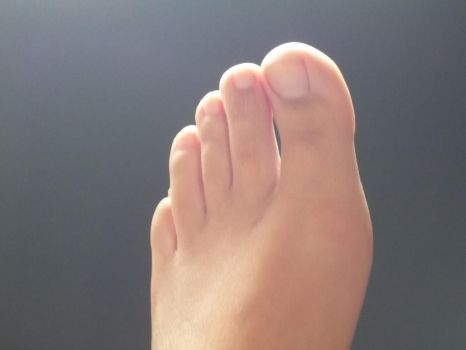 light up of my foot 3 by Netsrot1971