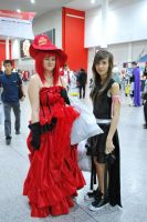 Madame Red and Tifa by TwilightImp