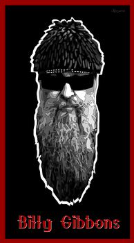 Billy Gibbons by ivankorsario
