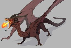 Dragon by AbelPhee
