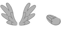 Pony wings :free to use: by RB-Bases