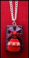 Moulin Rouge Windmill Necklace by citruscouture