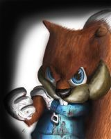 Conker the Squirrel by DFonzie