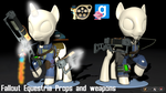 Fallout: Equestria - Props Pack by Longsword97
