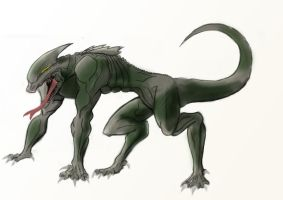 creature concept 2 by marty0x