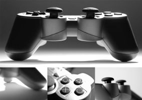 PS2 controller by FL3DGL1NG