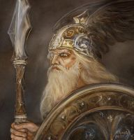 Wotan of Richard Wagners work by andrekosslick